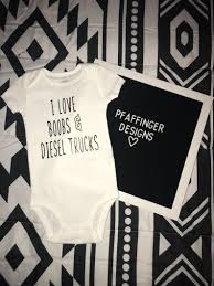 100 Tits And Trucks I Love Boobs Diesel OnePiece Etsy