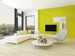modernes design wohnzimmer innenraum mit schönen möbeln und ausgefallene grüne wand