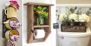 decoration a faire soi meme déco diy pour la salle de bain 15 idées laissez vous inspirer