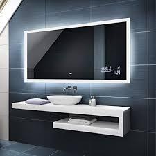 artforma badspiegel 120x60 cm mit led beleuchtung wählen