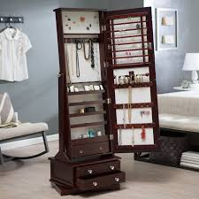 Standing Pretty Jewelry Armoire Box | KSVHS Jewellery Fniture Target Jewelry Armoire Free Standing Box With Mirror Image Of Cabinet Mf Cabinets Amazing Ideas Inspiring Stylish Storage Design Big Lots Wall Mounted Interior