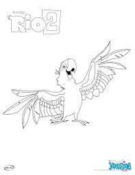 Coloriage Toucan à Carène Gratuit à Imprimer