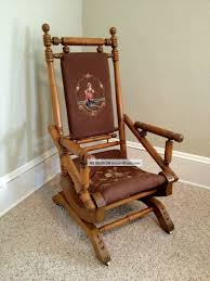 Chairs Tips On Checking Antique Rocking Chairs Antique ... Antique Wooden Chairs Timothykparkcom Dragon Chairs 97 For Sale On 1stdibs Antique Rocking Chair With Tooled Leather Seat Collectors Tips On Checking Rocking Chair With Leather Seat Image And Big Cedar Rocker 19th Century 91 At Attractive Oak Home And Vintage Bentwood By Thonet Best Recliner Used For Chairish