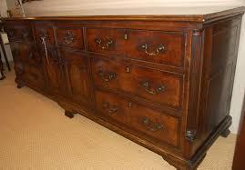 Vintage Tiger Oak Dresser by Oak Dresser Base