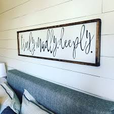 Above The Bed Sign