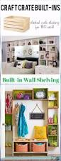 crate wall shelves image collections home wall decoration ideas