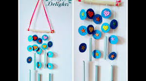 How To Do Wall Hanging Craft Ideas For Kids Simple And Easy Decor Beginners By Crafty Delightz