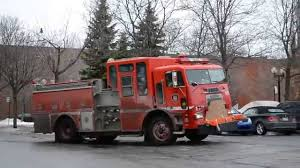 100 Old Fire Trucks OLD FREIGHTLINER COE FIRE TRUCK WITH T6V92 DETROIT DIESEL YouTube