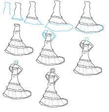 Drawn Gown Kid 9