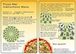 Game Pizza War