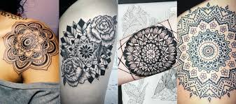 The Design Of Tattoo Encompasses Bright Colours And A Small Mosaic X Shape It Is All Connected Into Marvellous Art