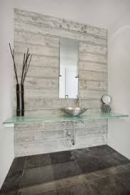 wood look tile bathroom feature wall search bathrooms