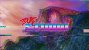 3up Studio 1980s New Retro Wave Vaporwave Artwork Glitch Art Wallpaper And Background
