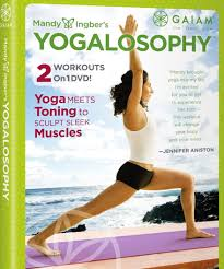 Jennifer Aniston Workout With Yogalosophy DVD