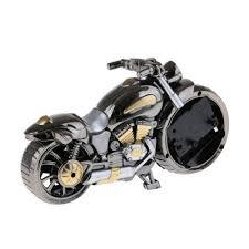 uhren teile zubehör kreativer motorrad wecker sanfter