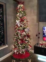 Slim Christmas Tree Sears Canada How To Decorate A Pencil My Web Value Skinny White Trees For Sale Cheap