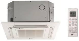 Lg Ceiling Cassette Mini Split by Lg Lcn097hv4 9 000 Btu Indoor Mini Split Ceiling Cassette Unit