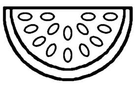 Free Watermelon Fruit Coloring Pages