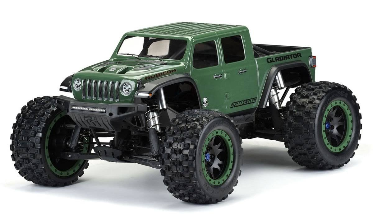 Pro-Line 3533-17 - Pre-Cut Jeep Gladiator Rubicon Clear Body X-Maxx