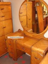 1930 s Art Deco Waterfall Bedroom Furniture My Older Cousin had This