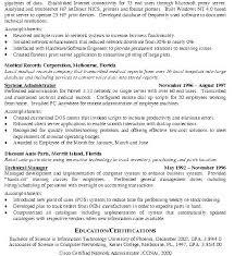 Network Engineer Resume Objective Engineers Examples