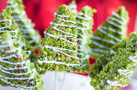 Its Christmas Time In The City Celebrate With These Adorably Festive Tree Rice Krispies