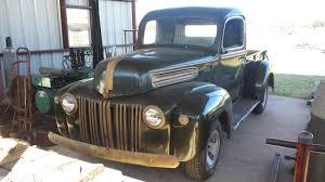 1946 Ford F100 Texas Truck Flathead V8 Barn Find Classic Fat Fender ...