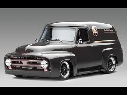1953 Ford FR100 Panel Truck Cammer - Side Angle - 1920x1440 Wallpaper