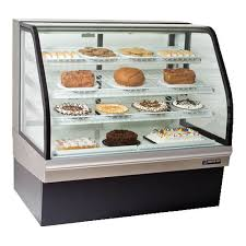 Master Bilt CGB 59 Curved Glass Refrigerated Bakery Display Case