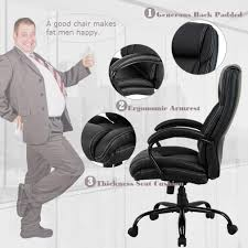 Amazon.com: Big And Tall Office Chair 500lbs Cheap Desk Chair ... Office Chairs Redating Chair Back Bar Stool Wearable Easy To Exquisite For Big Men Your Residence Decor Next Day Chester Leather Large Wing Officechair Eames Lounge Vitra Black Mhattan Home Design Aeron Herman Miller Ergonomic Computer Desk More Best Buy Canada Heavy People Choosing Chairs For Big And Tall Employees Fniture News A Man Seated In A Large Office Chair Leaning Back Checking His Ottoman 10 Neck Pain Think Classic Swopper Motion Seating Swoppercom