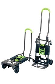 Folding Hand Truck Utility Cart Dolly Trolley Foldable Rolling ...