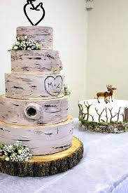 Rustic Wedding Cakes Deer Pearl Flowers Awesome Cake With Succulents