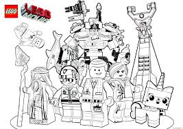 Lego 3 Marvel The Movie 2017 Coloring Pages