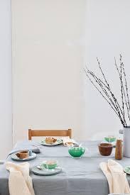 oster frühling s tischdeko grün grau vintage