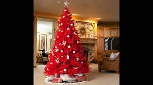 Balsam Hill Christmas Trees Complaints Uk by Red Christmas Tree Youtube