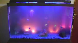 Aquarium Show with LED lights Bubble Volcano and Audio