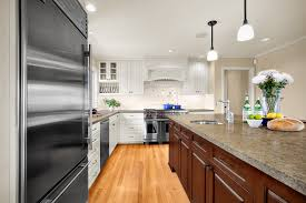 modern rubbed bronze kitchen traditional with ceiling lighting