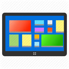 Android tablet window icon