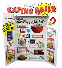 Science Fair Project Poster Board Ideas Display Boards