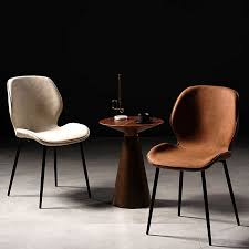 stühle nordic wohnzimmer eames stuhl muebles pu hocker
