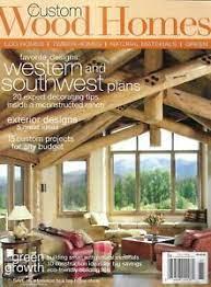 104 Wood Homes Magazine Custom Western And Southwest Plans Exterior Designs 2008 Ebay
