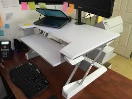 Kangaroo Standing Desk Imac by Review Sit Stand Desktop Workstation Will Transform Your Desk