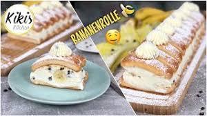 ohne backen die perfekte no bake bananenrolle aus dem kühlschrank mit löffelbiskuits blitzschnell