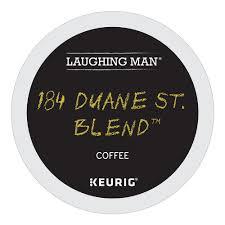 Laughing Man Coffee Keurig K Cups 184 Duane St Blend