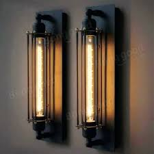 sconce vintage brass candle wall sconces retro outdoor wall