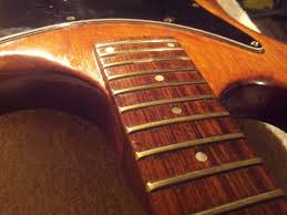 Everything On This Guitar Has Been Smothered With Horrible Thick Sticky Varnishyes Thats Right Including The Entire Fretboard And Frets AND