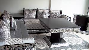 tissu canapé marocain sedari moderne finest salon marocain occasion dco salon marocain
