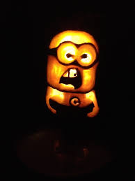 Pumpkin Carving Scary Faces Templates by How To Carve A Minion Pumpkin For Halloween Easy Carving With