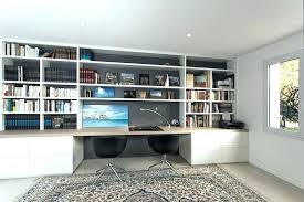 bureau bibliothèque intégré bibliotheque de bureau meuble bibliotheque avec bureau integre