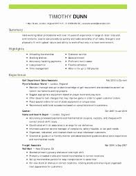 Resume Objective Statements Unique Sample Objectives For